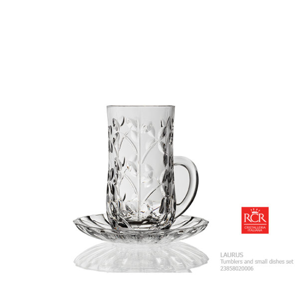 Laurus Tumblers & Small dishes set
