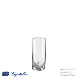 Bar-Trio Water Glass 150 ml