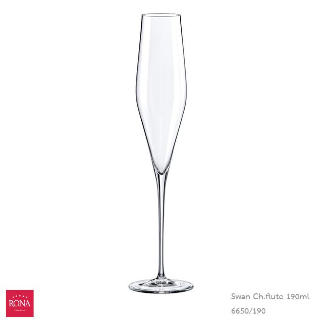 Swan Champagne flute 190 ml