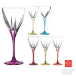 Fusion Colours Set 6 Water Goblets
