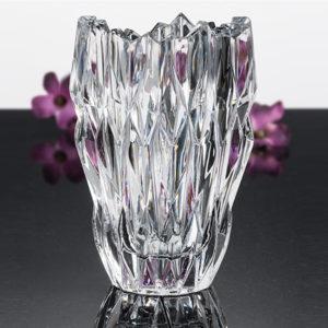 Quartz Vase oval