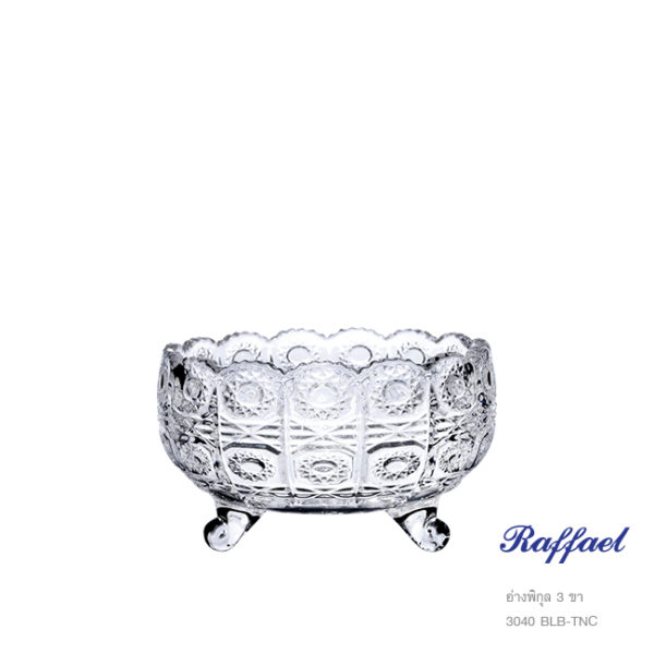 Raffael Bowl 3 footed 3040 BLB-TNC