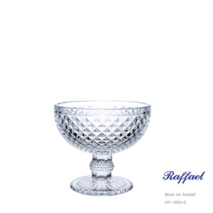 Raffael Bowl on footed HY-1654-0