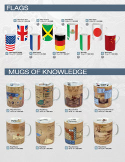 Flags / Mugs of knowledge