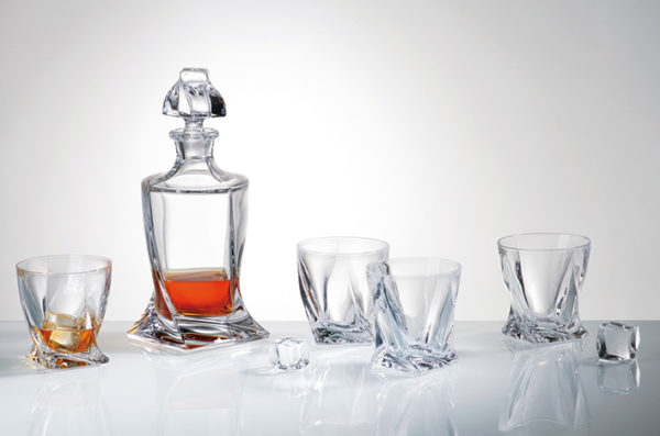 Crystalite Quadro Whisky Set