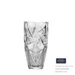 Pinwheel Cut Vase 20 cm