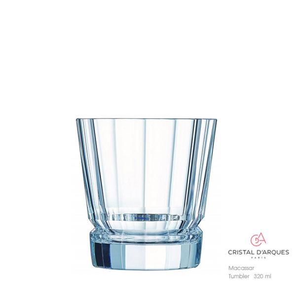 Macassar Whisky Tumbler 320 ml