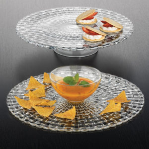 Bossa Nova Cake Plate Dip and Chip