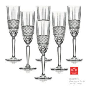 Brillante Champagne Goblet