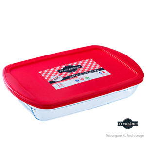 Rectangular XL food storage