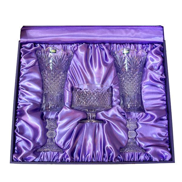 giftbox buddhism set 5pcs purple