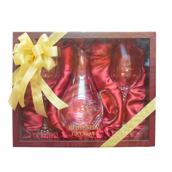 Gift Box Wine Decanter 3 pcs