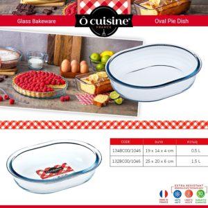 Ocuisine Oval Dish Pie
