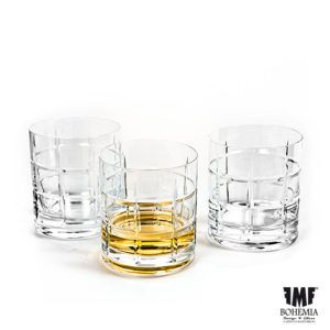 Tartan Whisky Glass