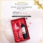 luxury gift wine glass+wine accessories